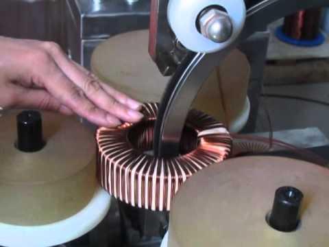 toroidal winding machine -toroidal winder -current transformer winding machine winding machine