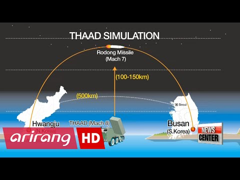 Ministry of Defense says THAAD can strike down missile-attack on Busan