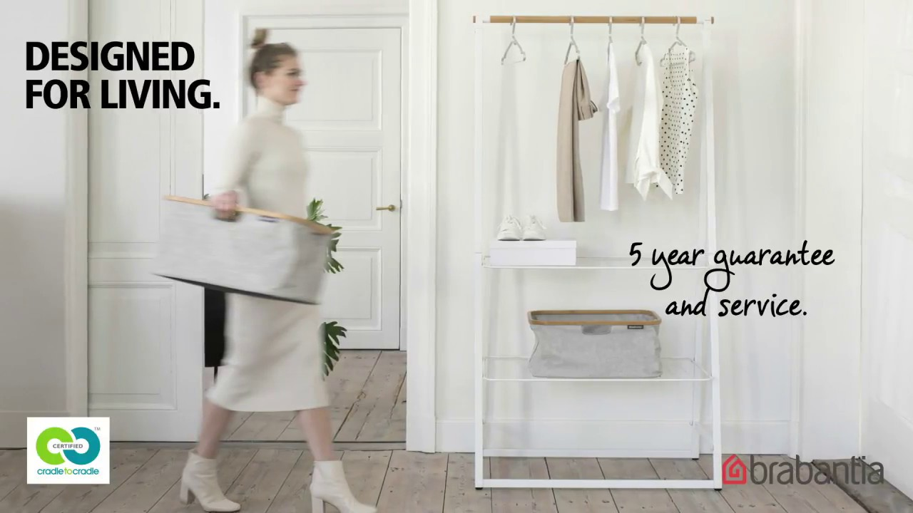 linn clothes rack organise air and dry your clothes beautifully brabantia