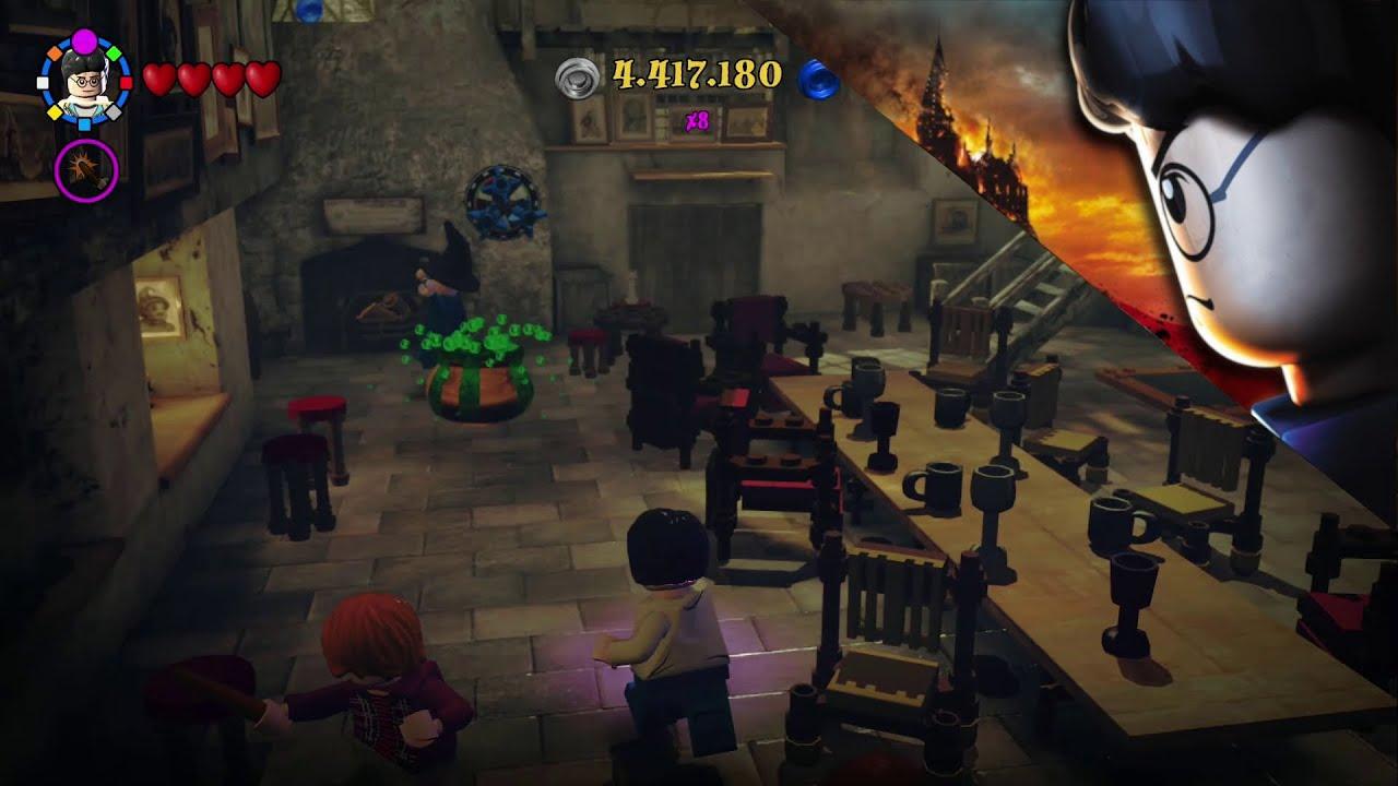 73 Der Tropfende Kessel Lego Harry Potter Die Jahre 5 7 Coll 100 Youtube