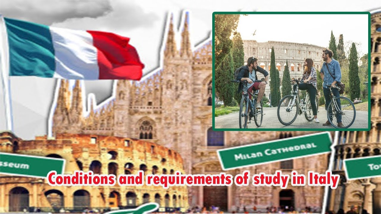 channel  Education lConditions and requirements of study in Italy
