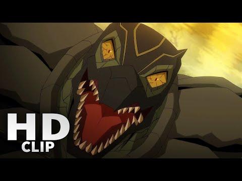 Sonya Blade Vs Reptile (Fight Scene) | Mortal Kombat Legends: Scorpion's Revenge