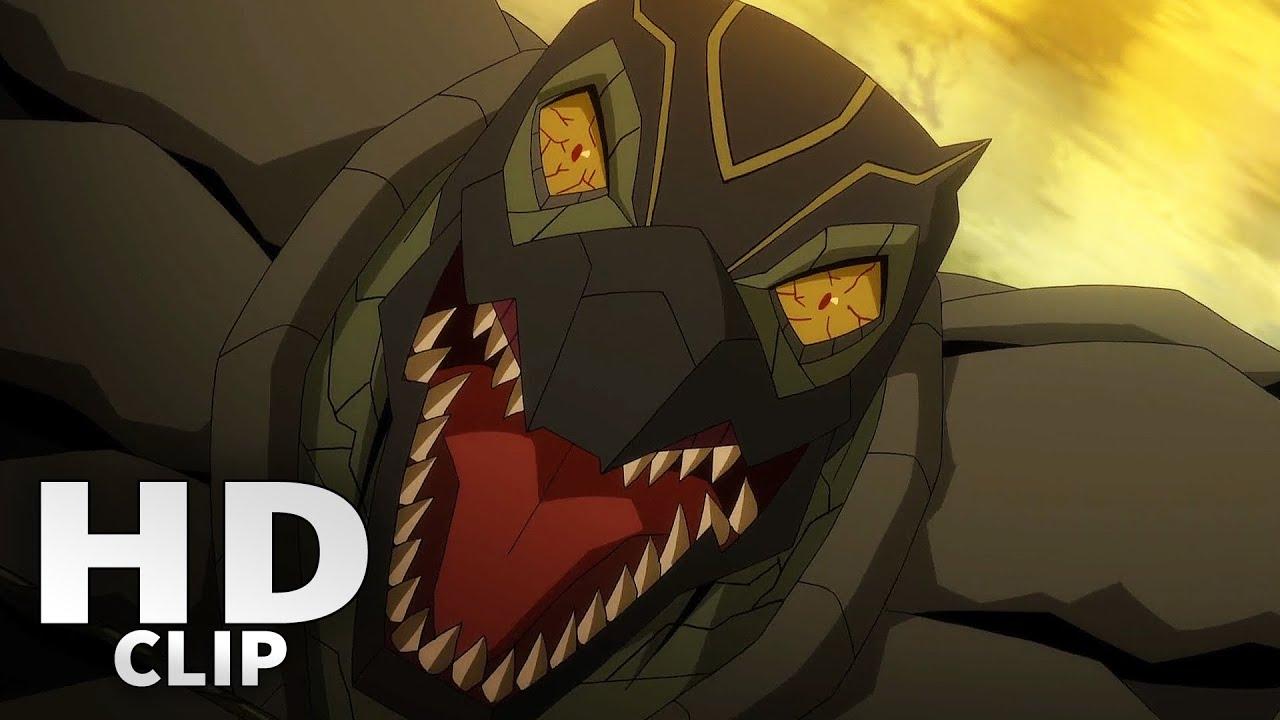 Sonya Blade Vs Reptile Fight Scene Mortal Kombat Legends