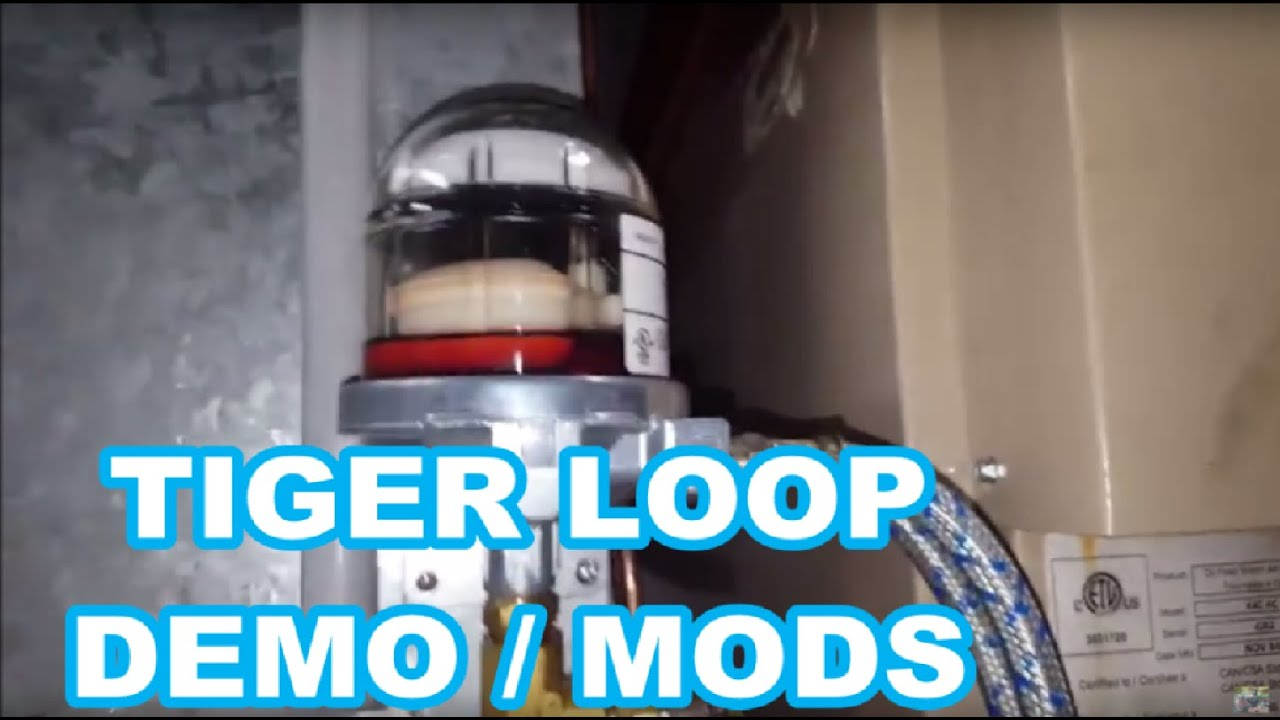 Tiger Loop Oil De Aerator Demo Beckett Oil Burner