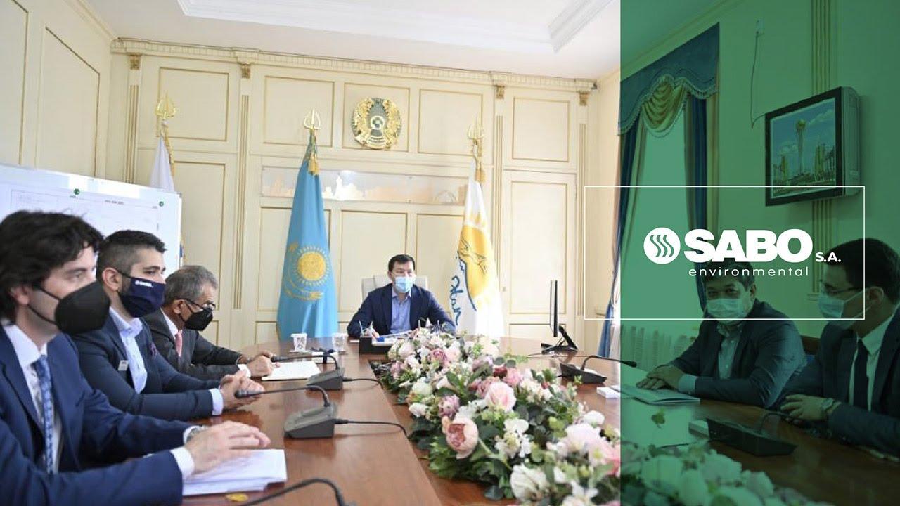 Η SABO Environmental υλοποιεί 3 Μονάδες Επεξεργασίας Αστικών Απορριμμάτων στο Καζακστάν.