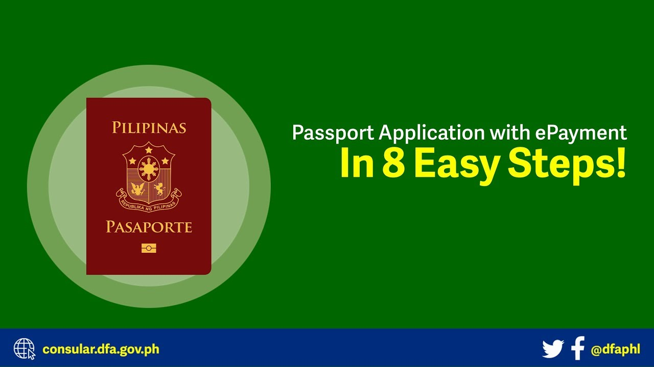 Applying for a Philippine Passport, In 8 Easy Steps!