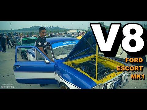 V8 FORD ESCORT MK1 | JDM + CONTI = PADU