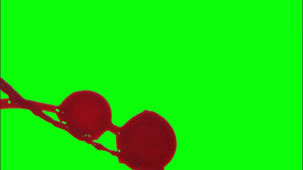 Blood Squirt Splatter Free HD FX (Green Screen) & In use Samples