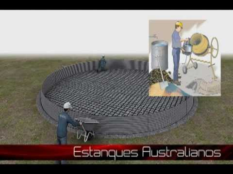 Estanques australianos youtube for Impermeabilizante para estanques de agua