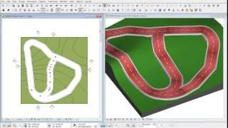 3DMD Polyline Pathway v2.1 - Archicad Object