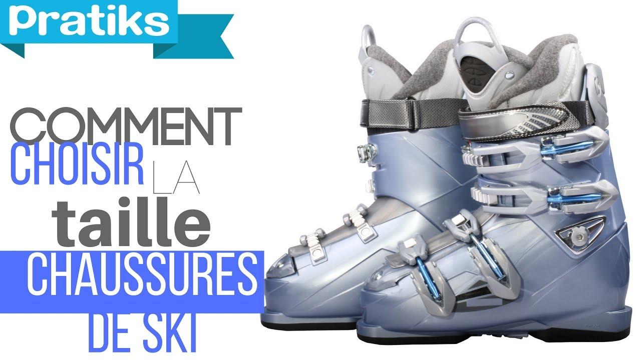 Chaussures Sport Skis Ski De Ses Comment Choisir Taille La qY8Cq