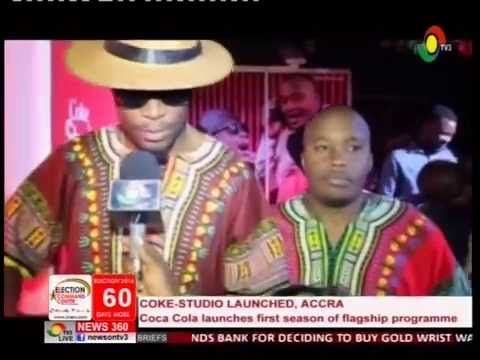 Coco Cola launches first season of Coke Studio in Accra - 7/10/2016