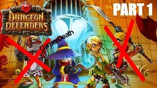 Dungeon Defenders - Session 1 Part 1 Coop | Le Puits Profond