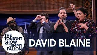 Download David Blaine Sews His Mouth Shut in Insane Trick (w/Jimmy, Priyanka Chopra & The Roots) Mp3 and Videos