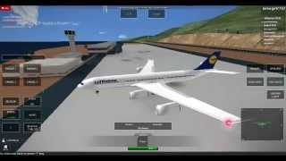 ROBLOX Avionic: How to land at Funchal Airport with an A340-300