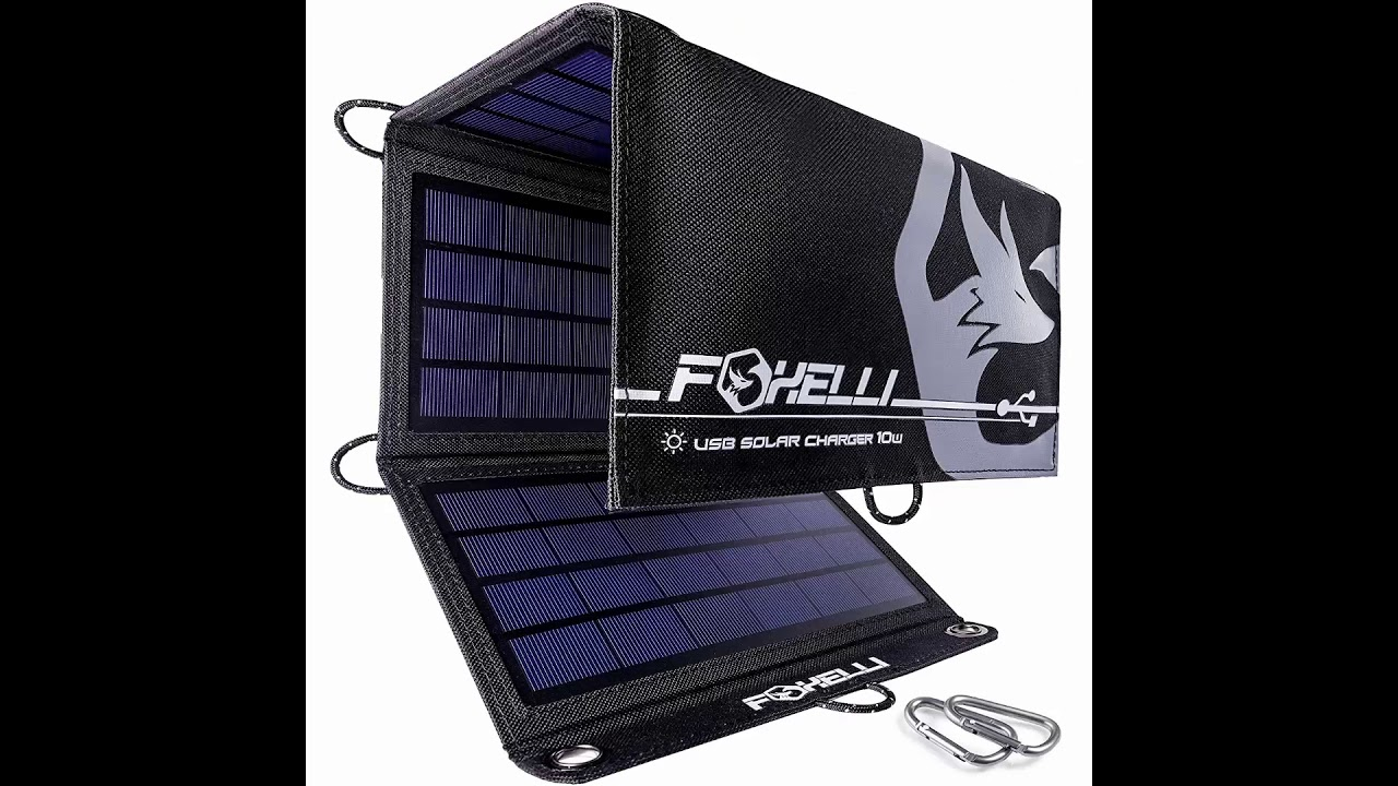 Best Solar Products 2020 Top 4 Solar Chargers For Camping and Hiking 2019 & 2020 (The Best