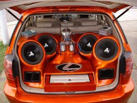 Best Competition Car Stereo Sound Systems, Custom, Awesome - YouTube