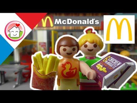 Playmobil en français Chez Mcdonalds - La famille Hauser