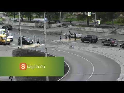 ДТП на пешеходном переходе в Нижнем Тагиле