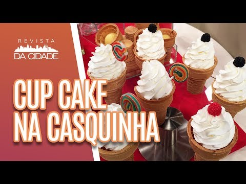 Cupcake Fácil de Baunilha e Leite Ninho | Como Fazer Cupcake de Baunilha e Leite ninho | Cakepedia
