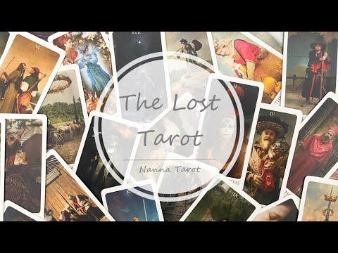 開箱  失落塔羅牌 • The Lost Tarot // Nanna Tarot
