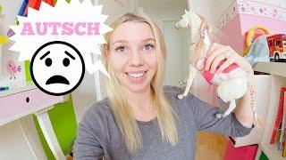 VLOG: Bein gebrochen! | Baby Haul | Schminken | Kochen | 28 SSW | Isabeau