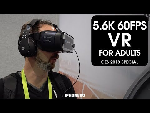 5.6K 60FPS VR For Adults — Naughty America [CES 2018 Special]