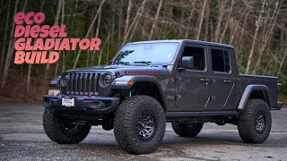 Jeep Gladiator EcoDiesel Off-Road Build