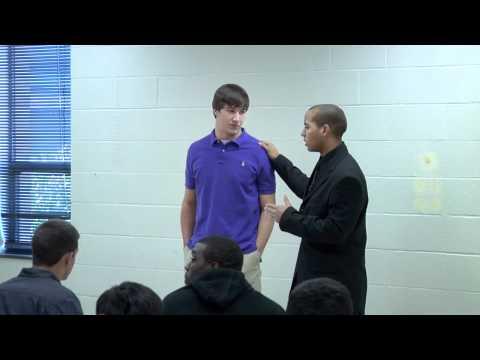 Chris Leak surprises Justin: 2010-2011 National Football POY award