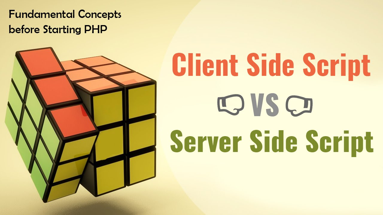 what is client side scripting