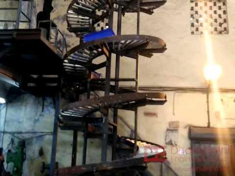 spiral roller chute youtube. Black Bedroom Furniture Sets. Home Design Ideas