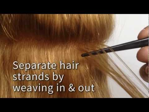 How To Apply Tape Hair Extensions Tutorial Locks & Bonds and Re-Use Seamless Remy