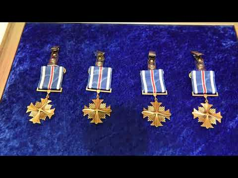 60 Seconds or Less: Distinguished Flying Cross Presentation
