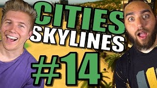 Cities Skylines: Gameplay [Mods] After Dark & Snowfall | Traffic and Tips Tutorial– Part 14