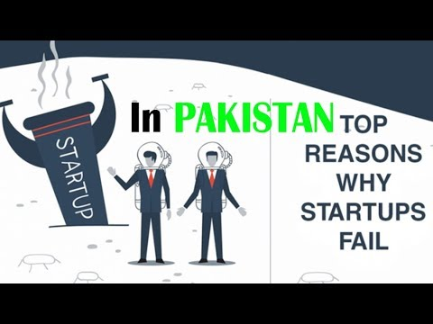 Top 5 Reasons | Why many Startup Fail in Pakistan | Entrepreneurship