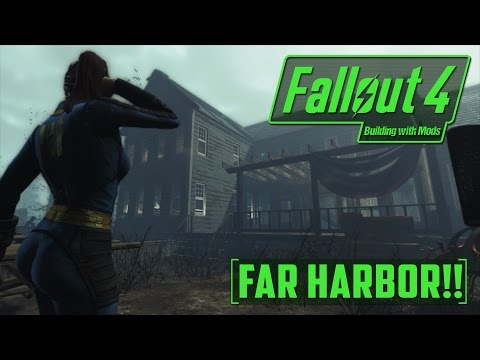 National Park Visitor Center - Building with Mods - Creation Kit - Far Harbor - Fallout 4