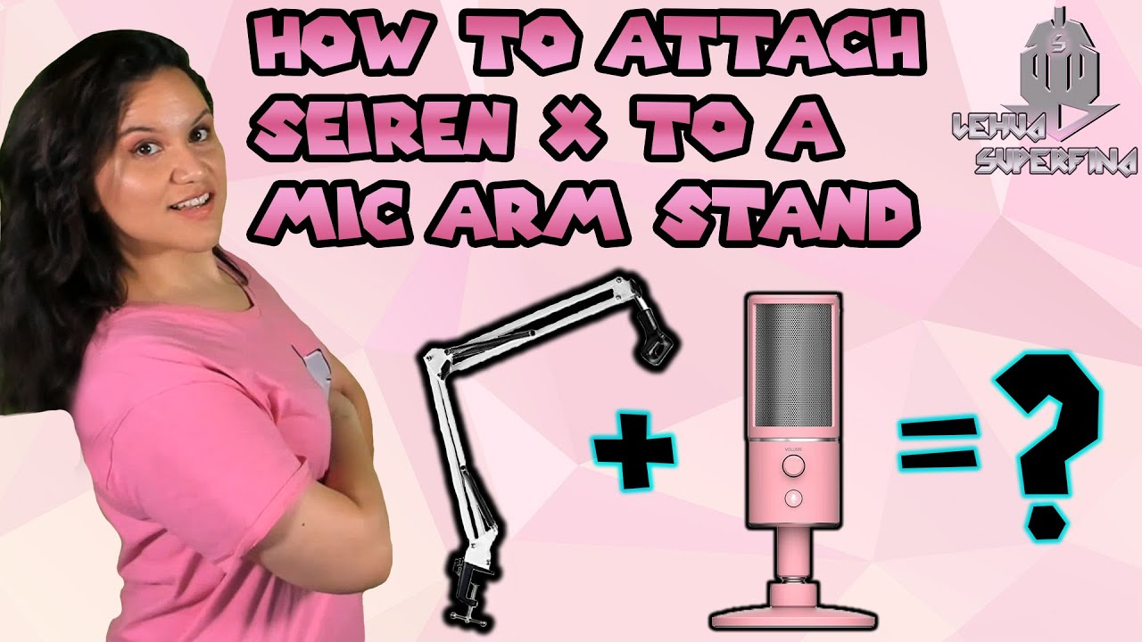 What arm do I use? | Razer Seiren X Mic | Answering Questions
