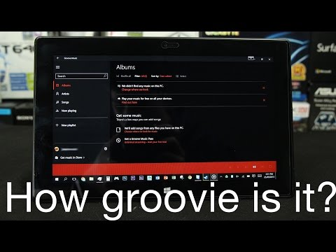 Microsoft Groove Music Overview