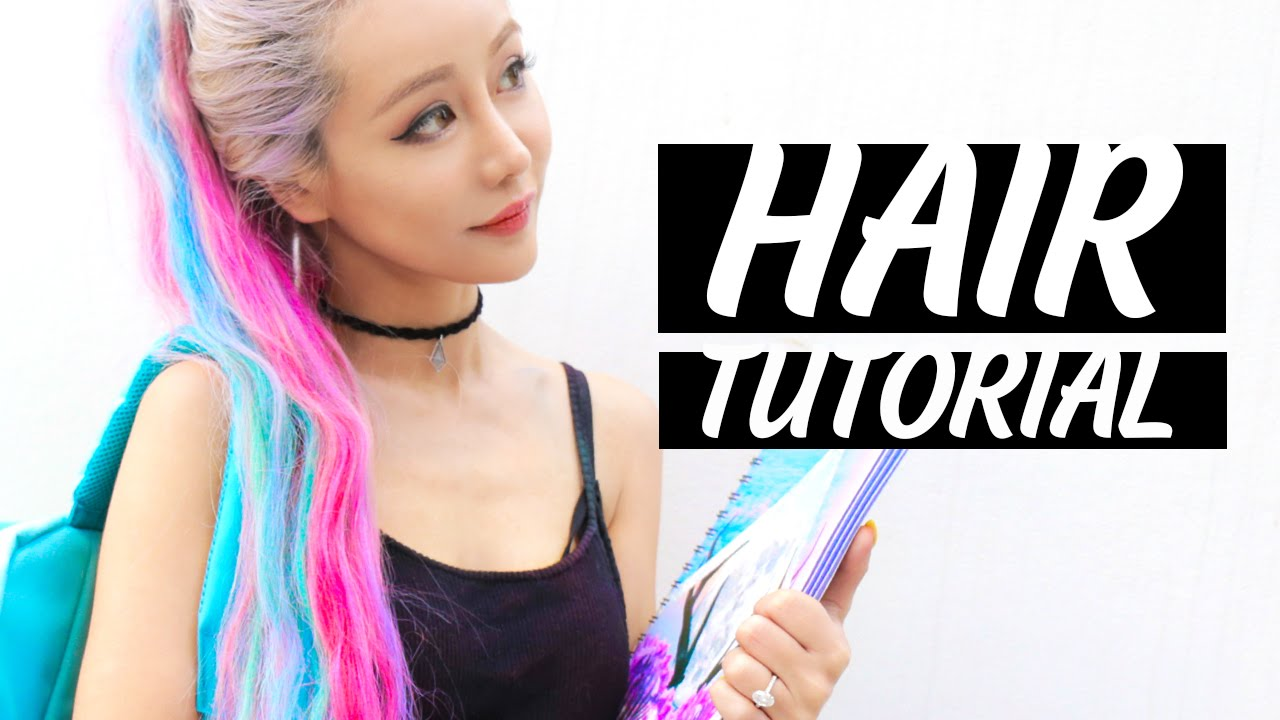 How To Get The Popular Unicorn Hair What Colors To Mix Today