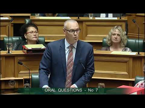 Question 7 - Jonathan Coleman to the Minister of Health