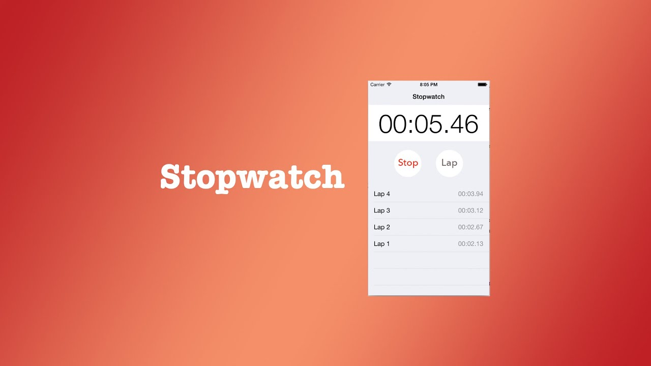 how to add a stopwatch to a video