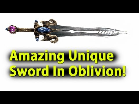 Oblivion -- The Best Unique Weapon in the Game