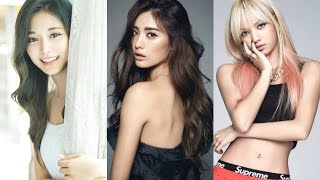 top 100 most beautiful kpop girls 2017
