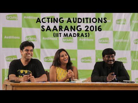Put Chutney Acting Auditions - IIT Madras (Saarang 2016)