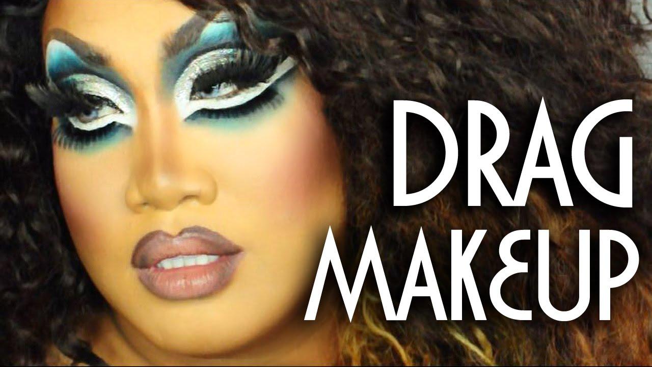 Drag makeup tutorial patrickstarrr youtube baditri Images