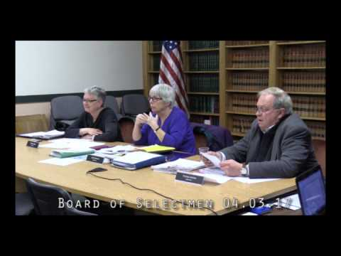 Board of Selectmen 04.03.17