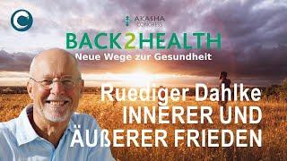 Ruediger Dahlke - Innerer und äußerer Frieden - Akasha Congress B2H