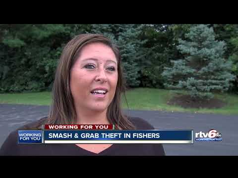 Parents on the go targeted by smash-and-grab robberies