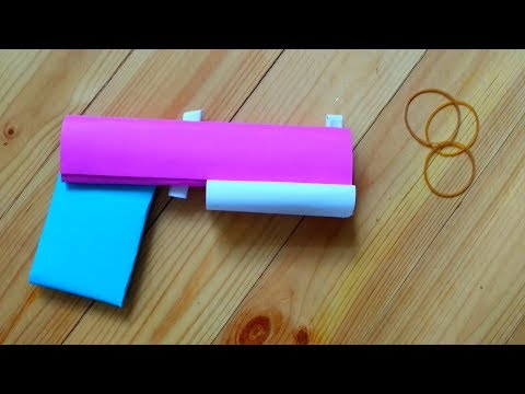 How to make paper weapons that hurt | Amazing paper gun that shoots and hurts easy without tape