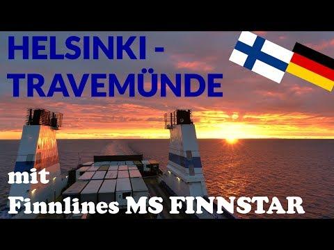 Helsinki - Travemünde mit FINNLINES | Tripreport Fährfahrt